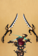 League of Legends Sinister Blade Katarina Cosplay Swords