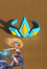 League of Legends Storm Fury Janna Cosplay Headwear