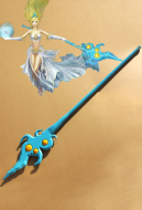 League of Legends Storm Fury Janna Cosplay Wand