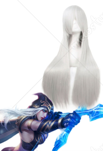 League of Legends LOL Frost Archer Ashe Cosplay Wig