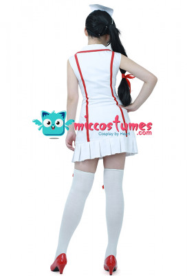League of Legends Nurse Akali Cosplay Costume