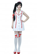 League of Legends Nurse Akali Cosplay Costume