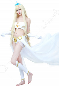 League of Legends the Storm's Fury Janna Cosplay Costume