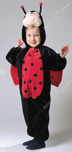Ladybug Plush With Wings Costume