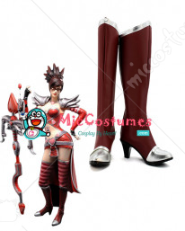 League of Legends Night Hunter Vayne Cosplay Boots