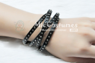 Leather Punk Bracelet For Syo Kurusu Cosplay