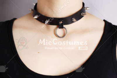 Leather Punk Necklace For Ren Jinguji or Tokiya Ichinose Cosplay