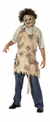 Leatherface Latex Apron Adult Costume