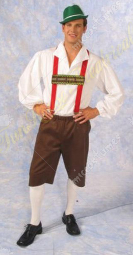 Lederhosen Adult Costume