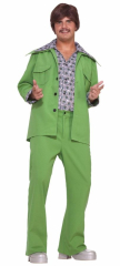 Leisure Suit 70s Green Adult Costume