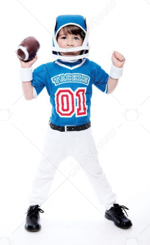 Lil Big Football Player Toddler Costume 3T-4T