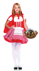 Lil Miss Red Riding Hood Teen Costume
