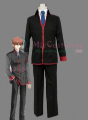 Little Busters Men School Uniform Cosplay Costume