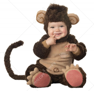 Lil' Monkey Elite Collection Infant Toddler Costume