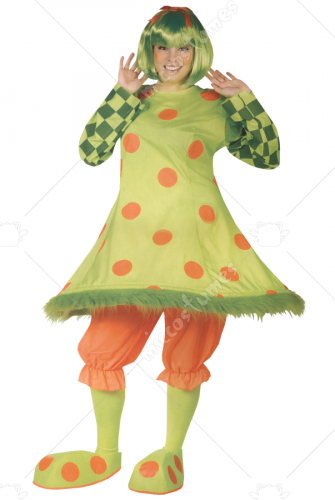 Lolli the Clown Costume Plus Size