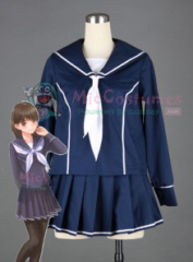Love Plus Girls Long Sleeves Uniform Cosplay Costume
