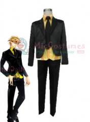 Lucky Dog Gian Karuro Cosplay Costume