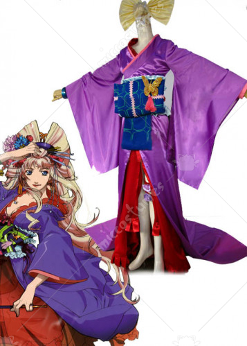 Macross Frontier Final Stage Sheryl Nome Cosplay Kimono