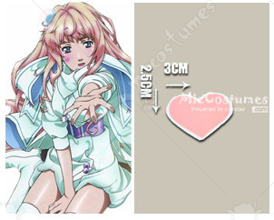 Macross Frontier Sheryl Nome Cosplay Tattoo Sticker