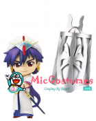 Magi The Labyrinth of Magic Sinbad Silver Wrist Armour