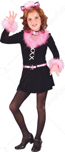 Marabou Cat Child Costume