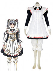 Maria Holic Matsurika Shinoji Maid Uniform Cosplay Costume