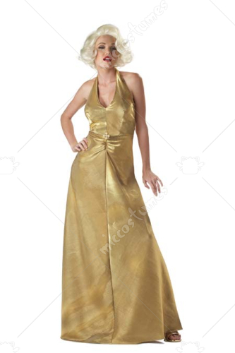Marilyn Monroe Golden Glam Costume