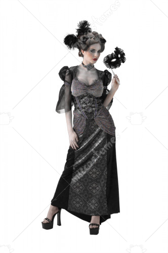 Masquerade Ball Countess Costume