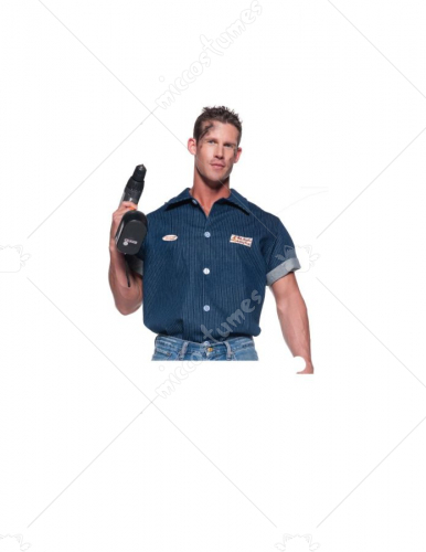 Mechanic Shirt Adult Costume