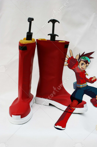 Mega Man Star Force Subaru Hoshikawa Cosplay Shoes