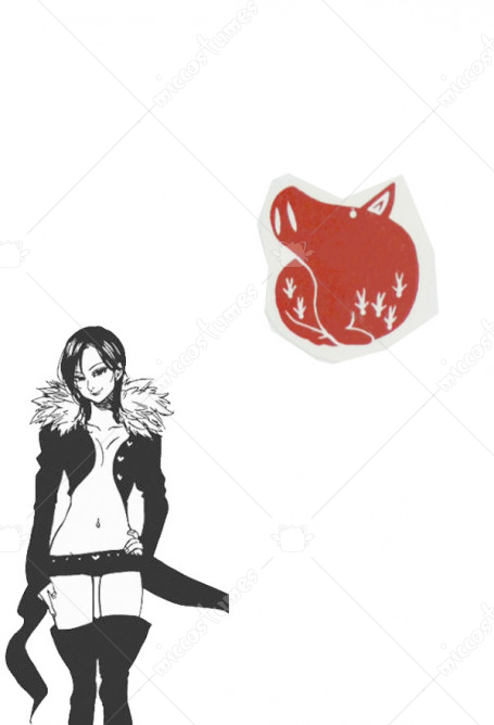 The Seven Deadly Sins Merlin Cosplay Tattoo Sticker