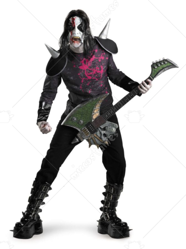 Metal Mayhem Standard Size Adult Costume