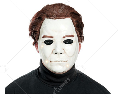 Michael Myers Light Up Adult Mask