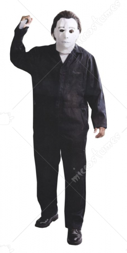 Michael Myers With Mask Deluxe XXL Adult Costume