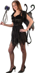 Midnight Fairy Black Teen Costume