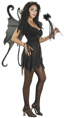 Midnight Fairy Velvet Costume