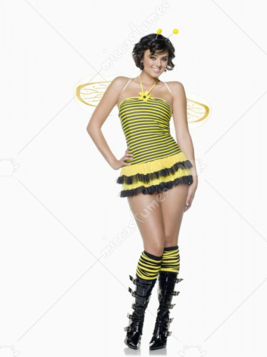 Midnight Stinger Bee Adult Plus Costume