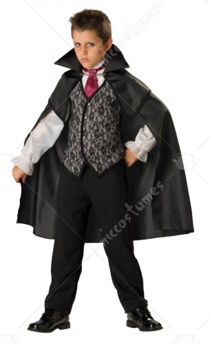 Midnight Vampire Child Costume