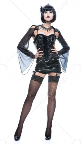 Midnite Mistress French Kiss Costume