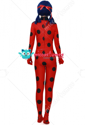 Adult Dupain Cheng Ladybug Cosplay Costume