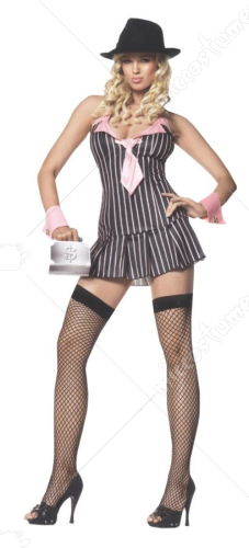 Miss Mafia Adult Costume