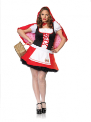 Miss Red Plus Size Costume