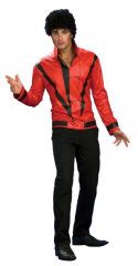 Michael Jackson Red Thriller Jacket Deluxe Adult Costume