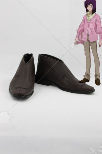 Mobile Suit Gundam 00 Tieria Cosplay Shoes