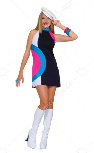 Mod Doll Teen Costume