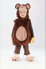 Monkey N' Around Toddler Child Costume