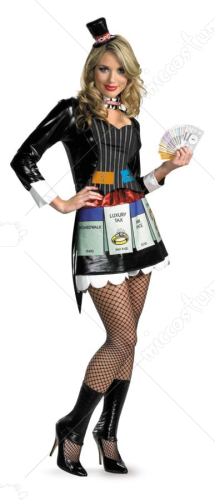 Sexy Monopoly Deluxe Adult Costume