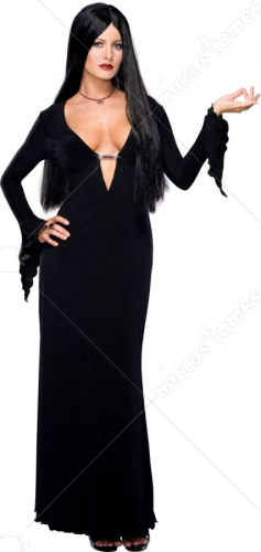 Morticia Plus Size Costume
