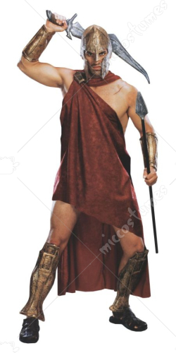 Movie 300 Spartan Deluxe Adult Costume