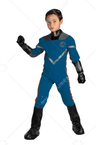 Mr Fantastic Deluxe Child Costume